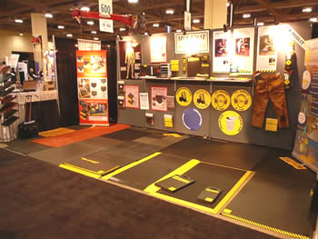 MTM trade show booth